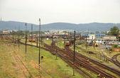 Tren de ferrocarril — Foto de Stock