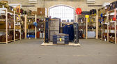 Salle de bagages vintage — Photo