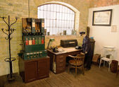 Historical Railway Station Office — Stock Photo