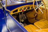 Inside of Old Timer — Stock Photo