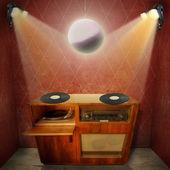 Vintage Grammophone — Stock Photo