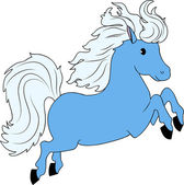 Mały koń — Wektor stockowy