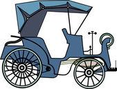 Vintage car — Stock Vector