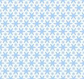 Seamless snowflakes pattern — Stock Vector