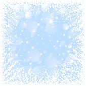抽象的なクリスマス フレーム — ストックベクタ