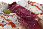 Food network — Stockfoto