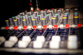 Professional music mixer — Stock Photo