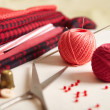 Materials for needlework. — Foto de stock #33137337