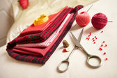 Materials for needlework. — Stock Photo