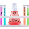 Stock Photo: Formula of love.