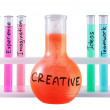 Formula of creativity. — Stockfoto