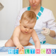 Baby healthcare and treatment. General concept. — Stock Photo