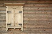 Wall with window — Стоковое фото