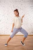Dance poses — Stock Photo