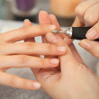 Spsalon. Manicure. — Stock Photo #39154831
