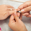 Spsalon. Manicure. — Stock Photo #40070279