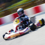 Kart Racing Championship — Stock Photo