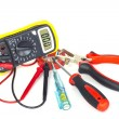 Electrician tools  — Stock Photo