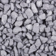 Close-up of crushed gravel background — Stock Photo