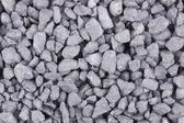 Close-up of crushed gravel background — Foto Stock