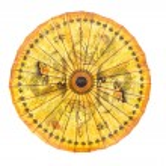 Taditional thai sunshade ornament — Стоковое фото