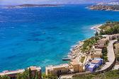 Mirabello bay near Agios Nikolaos in Crete island, Greece — Zdjęcie stockowe