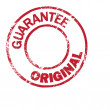 Original Guarantee — Stock Vector