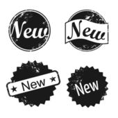 New Vector Stamp — Stock Vector