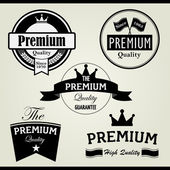 Premium Vintage Stamp and Label — Stock Vector