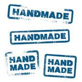 Handmade Stamp Set — Stock Vector