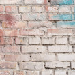 Old brick wall, grunge, bekgraund — Stockfoto