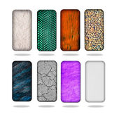 Smartphone back covers — Stock Photo