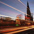Princes Street Light Streaks — Stock Photo