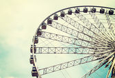 Ferris wheel on the sky — Foto Stock