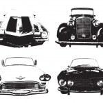 Retro Car silhouette — Stock Vector #37806993