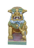 China lion statue — Stock Photo