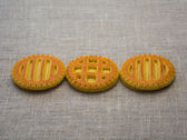 Biscuits of a round. — Stok fotoğraf