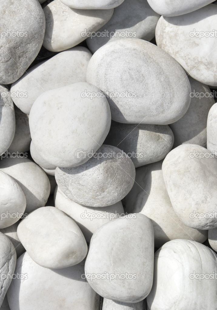 Tas de pierres blanches caillou pierre pour close up de for Ou acheter des galets blancs