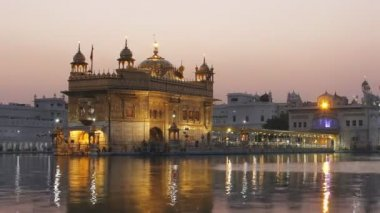 Golden Temple, The most prominent Sikh Gurdwara in the world — Stock Video