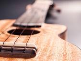 Ukulele Wooden. — Stock Photo