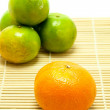 Orange fresh fruit — ストック写真