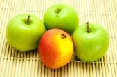 Apple Fresh fruit. — Stock Photo