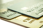 Credit card background — Stock Photo
