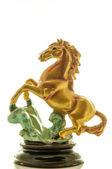 Golden Horse — Stock Photo