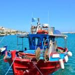 Постер, плакат: Greek fishing boat in Sitia