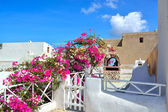 The traditional architecture of Santorini, Oia — Stock Photo