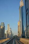 Cityscape, Metro, Dubai — ストック写真
