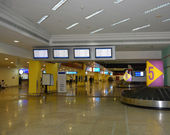 Airport, arrival hall — Stock Photo