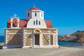 Monastery by the sea. — Stock Photo
