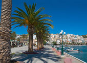 View of the Greek town of Sitia. — Stock Photo